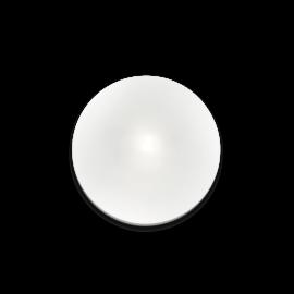 Applique ou Plafonnier Smarties Ideal Lux monture en métal, diffuseur en verre soufflé dépoli 1xG9 3,2w 3000K incluses