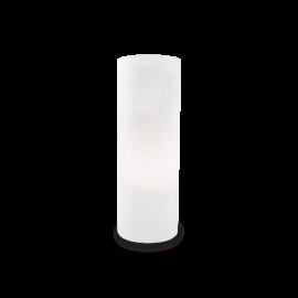 Lampe Edo Ideal Lux verre blanc 60w E27 H35
