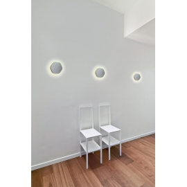 applique led epistar hexagonale bora bora gris