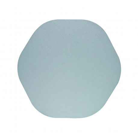 applique led epistar hexagonale bora bora gris