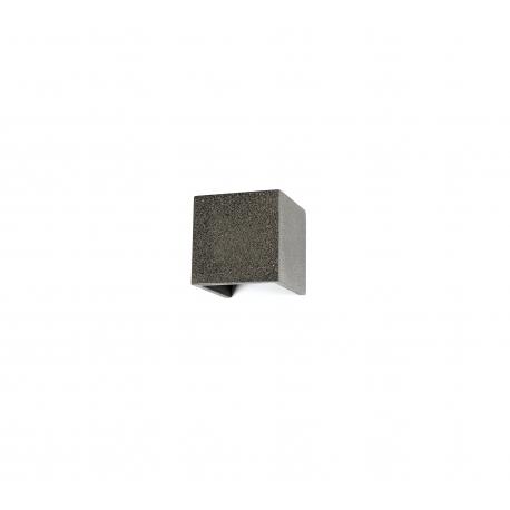 Applique led Taos ciment gris aspect pierre 12w 3000k 1100 lumens angle d`eclairage réglable avec volets IP65