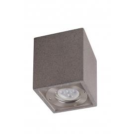 Plafonnier Levi Mantra béton gris GU10 non inclue IP65