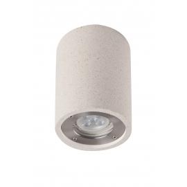 Plafonnier Levi Mantra béton blanc GU10 non inclue IP65