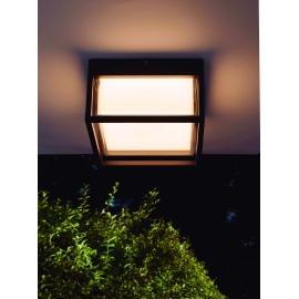 Applique, plafonnier extérieur led Chamonix Mantra gris anthracite 9W 725 lumens IP65