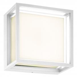 Applique, plafonnier extérieur led Chamonix Mantra aluminium blanc 9W 725 lumens IP65