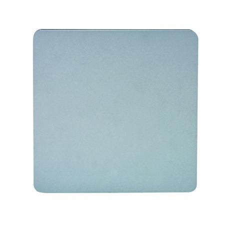 applique led carrée bora bora gris led epistar