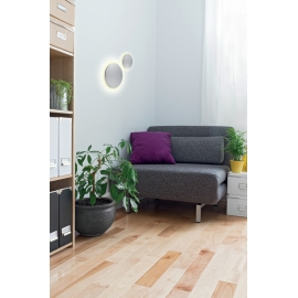 applique led ronde bora bora blanc mat led epistar