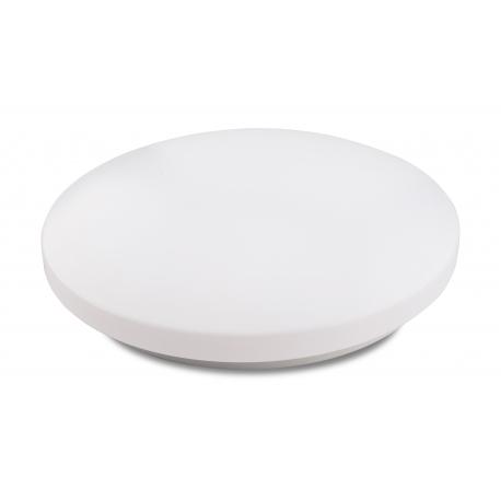 Plafonnier led Zero Mantra acrylique blanc 24w 1700 lumens 5000K D33