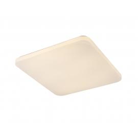Plafonnier Quatro2 Mantra acrylique blanc 60w 3800 lumens 3000k 50x50