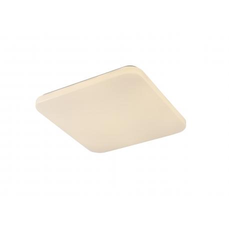 Plafonnier Quatro2 Mantra acrylique blanc 45w 2800 lumens 3000k 40x40 cms