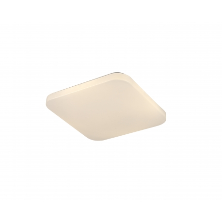 Plafonnier Quatro2 Mantra acrylique blanc 30w 1800 lumens 3000k 30x30 cms