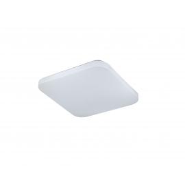 Plafonnier Quatro2 Mantra acrylique blanc 30w 2000 lumens 5000k 30x30 cms