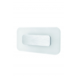 applique led rectangulaire sol nickel satiné led epistar