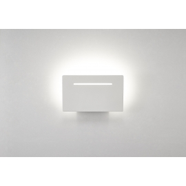 applique led rectangulaire toja blanc mat led epistar