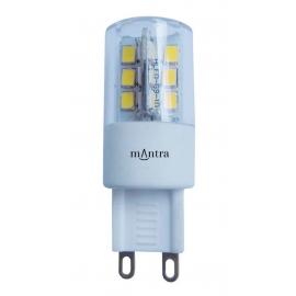 ampoule led G9 3w 2700k 268 lumens
