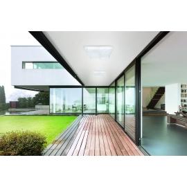 Luminaire exterieur applique lampe solaire suspension for Luminaire exterieur plafonnier